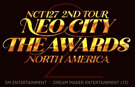 NCT 127 2ND TOUR NEO CITY THE AWARDS IN CHICAGO
