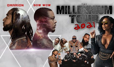The Millennium Tour 2021 featuring Omarion, Bow Wow and more